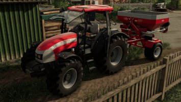 Kuhn Axis trailered FS19