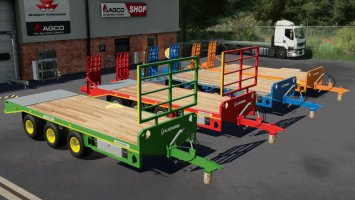 Lizard Tri Axle Low Loader fs19