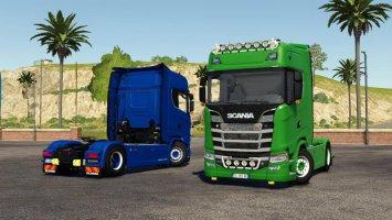 Scania S580 V8 v2