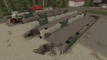 Small Bunker Silo Set tractors-fs17