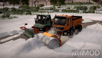 Snow pack with optional parts v1.0.2 FS19