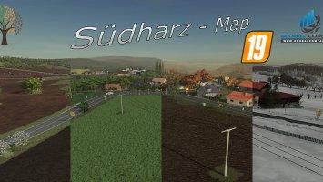 Südharz - Map v1.2.2 fs19