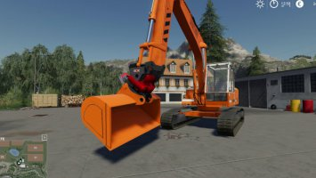 Tiltrotator with Grab for Liebherr 902 Pack