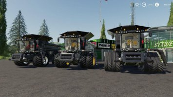 AGCO IDEAL 9 Combine By Stevie fs19