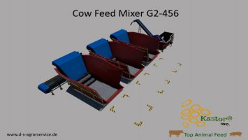 Feed Mixer G2-456 By Kastor Inc. v1.2.0.0 fs19