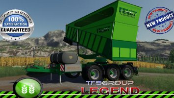 FENDT BIG OVERLOADING TRAILER v1.0.0.3 fs19