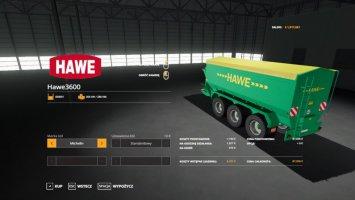 Hawe UlW 3600 fs19