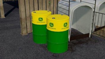 John Deere Oil Drum fs19