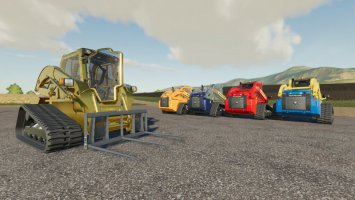 New Holland C232 Skid Steer Custom v1.1 fs19