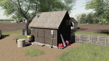 Wooden Building fs19