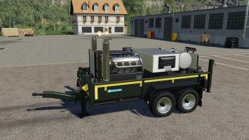 Eigenbau Stationärmotor V8 FS19