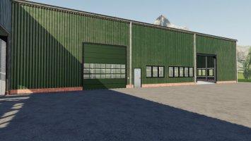Neue Hallentextur für Addon Strohbergung fs19