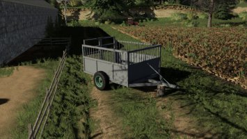 Old Cattle Trailer fs19