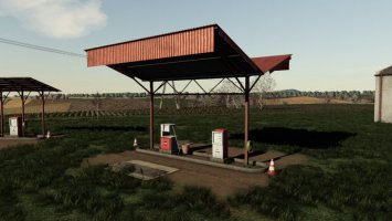 Old Fuel Stations Pack
