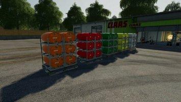 Pallets With Barrels v2 fs19