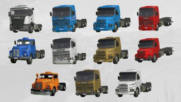 Scania Trucks Pack FCS v2.0