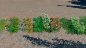 UPDATED TUTORIAL WITH BETTER EXPLANATION FOR PAINTING TEXTURES AND BUSHES /FLOWERS, IN-GAME. v1.0.1