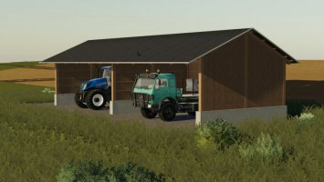 Wolf System Shed fs19