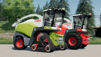 Claas Jaguar 800 Straw Edition fs19