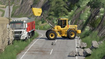 Dynamic Rock Pack With Filltype v0.1.1 fs19