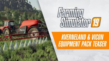 Kverneland & Vicon Equipment Pack Teaser Trailer news
