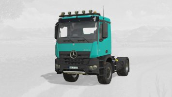 Mercedes Benz Arocs Agrar V6 fs19