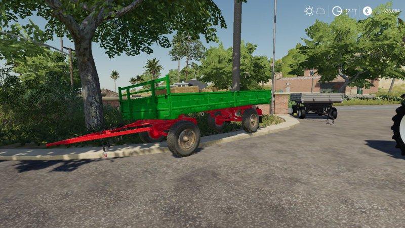 Przyczepa HW 60 Autoload FS19