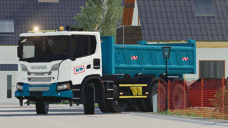 Scania XT 6x4 FS19