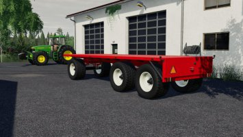 Flatbed Trailer fs19