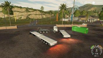 HKL Container Trailer FS19