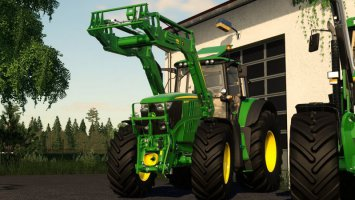 John Deere 6175/6195M Series FS19
