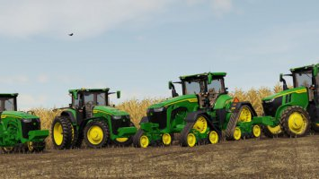 John Deere 7R, 8R, 8RT, 8RX 2020 US-Version fs19