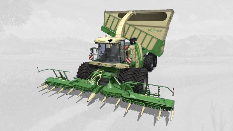 Krone BigX1180 Cargo v1.1 FS19