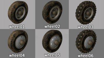 Lizard Wheels Pack fs19
