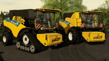 New Holland CR 6.90 v1.2 fs19