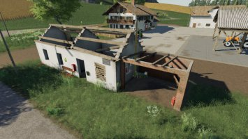 Platzierbare Ruinen Hauspack fs19