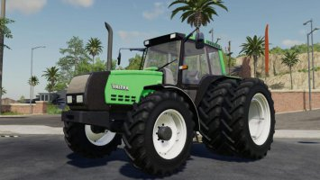 Valtra Valmet 6400 edit smoke black fs19