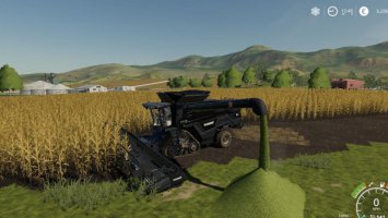 AGCO IDEAL9 Forage Harvester + Cutter fs19
