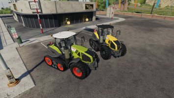 CLAAS AXION 900 SERIES TERRA TRAC v1.0.0.1 fs19