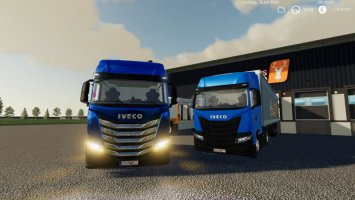 Iveco SWay 2020 Multicolor Update v1.1 fs19