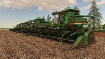 JOHN DEERE STS 9750 AND 630F fs19