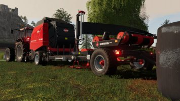 Kuhn VB 2190 With Attacher To Ursus Z586 v1.2 fs19