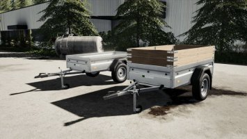 Lizard Car Trailer v1.1 fs19