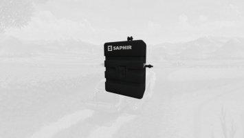 Saphir 800 KG Gewicht fs19