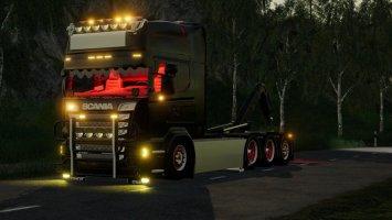 Scania R580 Hooklift fs19