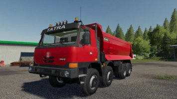 Tatra TerrNo1 8x8 + korba S1 fs19