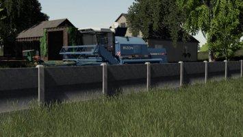 Concrete Fences fs19