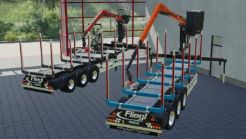 Fliegl Timber-Runner Z-Crane Pack v1.0.1.0 fs19