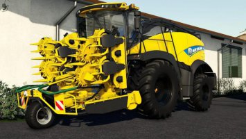 New Holland FR850 Yellow Bull fs19