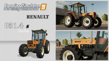 Renault 851-4s Turbo fs19